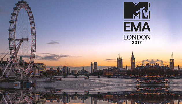 2017 MTV EMAs Are Taking Over London