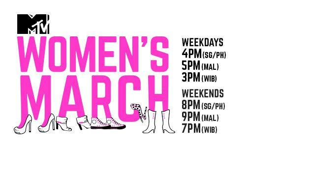 MTV WOMEN'S MARCH