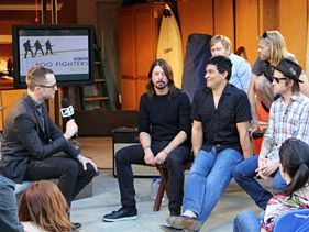 Dave Grohl Spreads The Gospel Of Rock