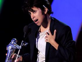 Lady Gaga's Jo Calderone Alter Ego Accepts Best Female Video VMA