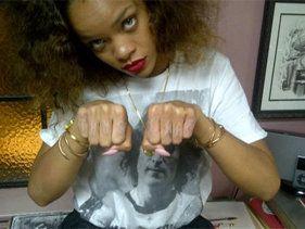 Rihanna's 'Thug Life' Joins List Of Hip-Hop Tattoo Tributes