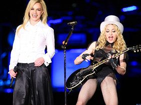 Are Madonna And Britney Spears Collaborating On MDNA?