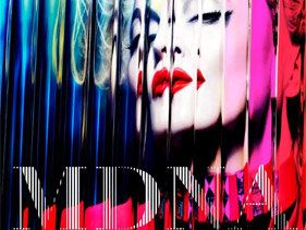 Madonna Unveils Colourful MDNA Cover Art