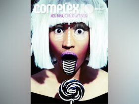 Nicki Minaj Continues Newsstand Domination With Complex Cover