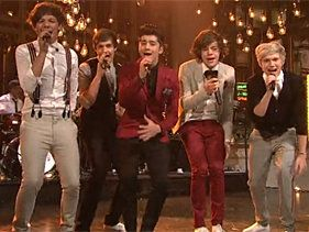 One Direction Prove Themselves During 'SNL' Debut