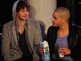 The Wanted Chug Milk And Wiggle Dance With Fans