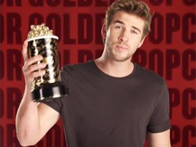 Chris Evans, Liam Hemsworth Rise Up For Movie Awards Promo