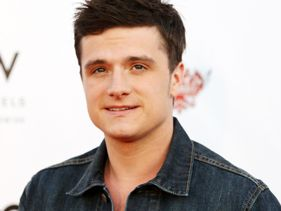 Josh Hutcherson Sports Nose Bandage After Surgery