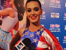 Katy Perry Lights Up New York's Fleet Week
