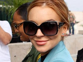 Lindsay Lohan Laughs Off Exhaustion Drama