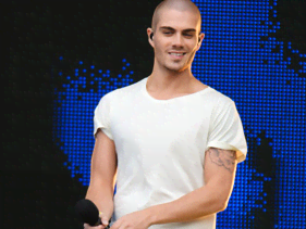 The Wanted's Max George Splits With Longtime Girlfriend
