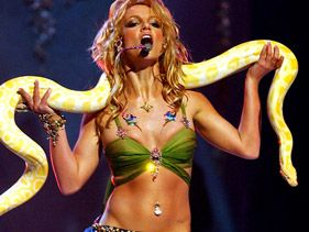 Britney Spears' Slithering 'Slave 4 U' Tops Artists' Most Epic VMA Moment