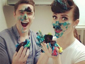 Karmin Take Us Behind Their Frosting-Filled Instagram Shoot