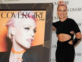 Pink Is 'Strong' And Sexy As New Face Of CoverGirl