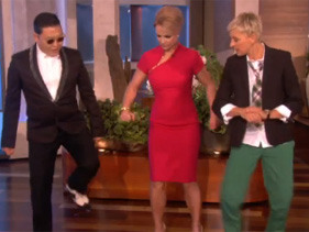Britney Spears Learns Psy's 'Gangnam Style' On Ellen