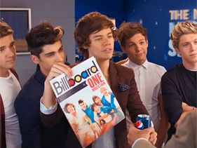 One Direction Sign Sixth Member ... For A Can Of Soda?