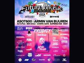 Full Line-Up For Future Music Festival Asia 2013 Announced!