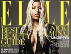 Nicki Minaj Strips Down For Elle Cover
