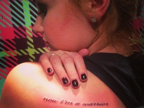 Demi Lovato Proves Her 'Warrior' Status With 12th Tattoo