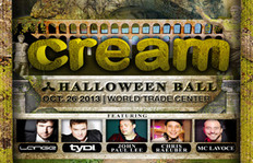 Cream Halloween Ball 2013 Back With Ancient Roman Empire Theme