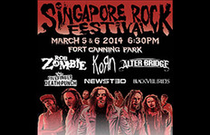 Rob Zombie, Korn And Alter Bridge To Headline Singapore Rock Festival