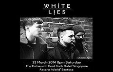 White Lies To Perform Full Live Show In Singapore This March
