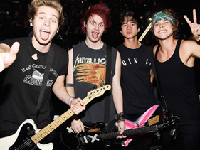 This Synchronized 5SOS Tooth-Brushing Video Enters Major TMI Territory