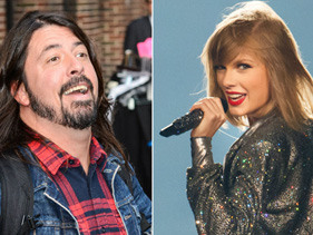 Dave Grohl Dedicated A Bunch Of Songs To Taylor Swift After Admitting He's 'Obsessed' With Her