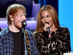 Ed Sheeran Says Taylor Swift And Beyonce Make Him Want To Be A Bigger Star