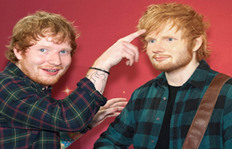 Ed Sheeran's Wax Sculpture Has A Bulge
