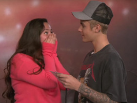 There's Nothing Like The Pure Joy Of Watching Justin Bieber Surprise His Fans