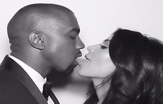 Kimye's Anniversary Present To The World: Tongue