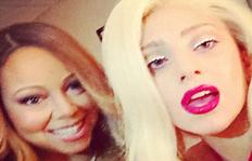 Divas Unite! Lady Gaga and Mariah Carey Take The Ultimate Selfie