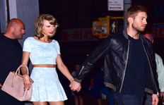 Taylor Swift Dresses Like A Daydream For Dinner Date With Calvin Harris