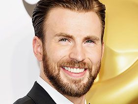9 Times Chris Evans Touches His Perfect Pecs While Laughing