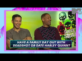 Suicide Squad Cast Play Would You Rather: BAD GUYS Edition!