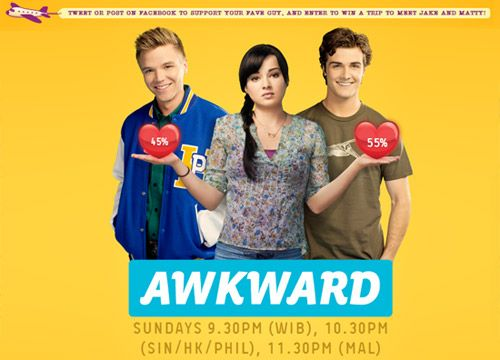 Awkward. | Season 1 | Episodes | MTV Asia