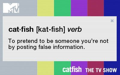 What does Catfish mean in online dating context