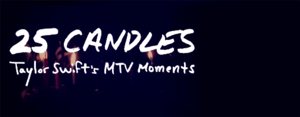 Taylor Swift's MTV Moments