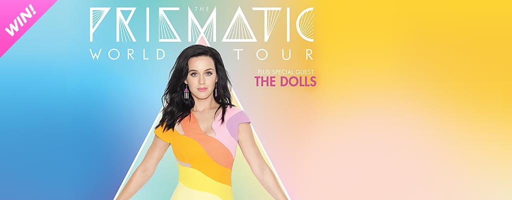 Win Tickets To Katy Perry