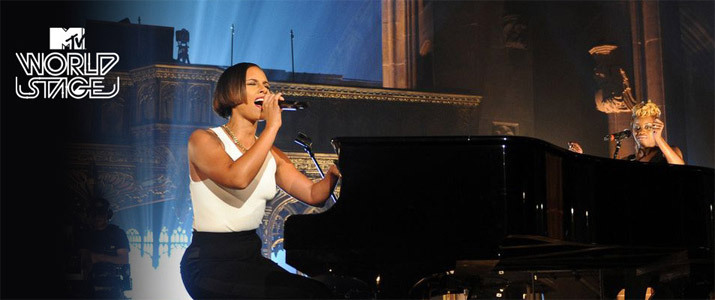 MTV World Stage: Alicia Keys Live in Manchester, UK