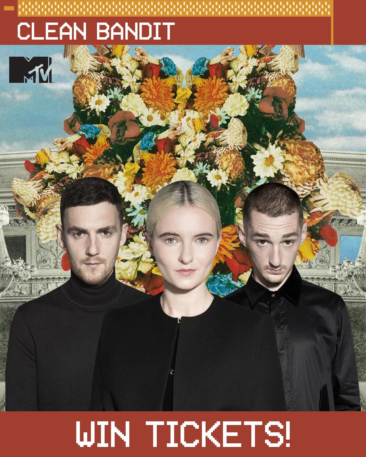 Contest win vip tix meet and greet with clean bandit in to stand a chance to win all you need to do is tag a friend on our contest post at facebooktwitterinstagram and tell us your favourite clean bandit song kristyandbryce Images