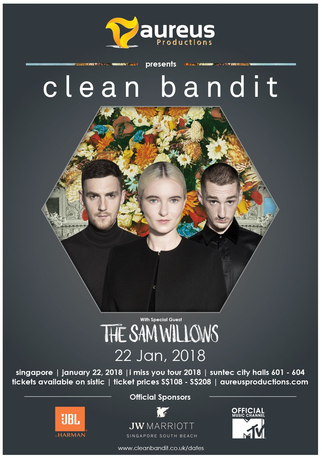 Contest win vip tix meet and greet with clean bandit in no admission for infants in arms or children below the age of 5 children above 5 years old must purchase ticket for admission kristyandbryce Images